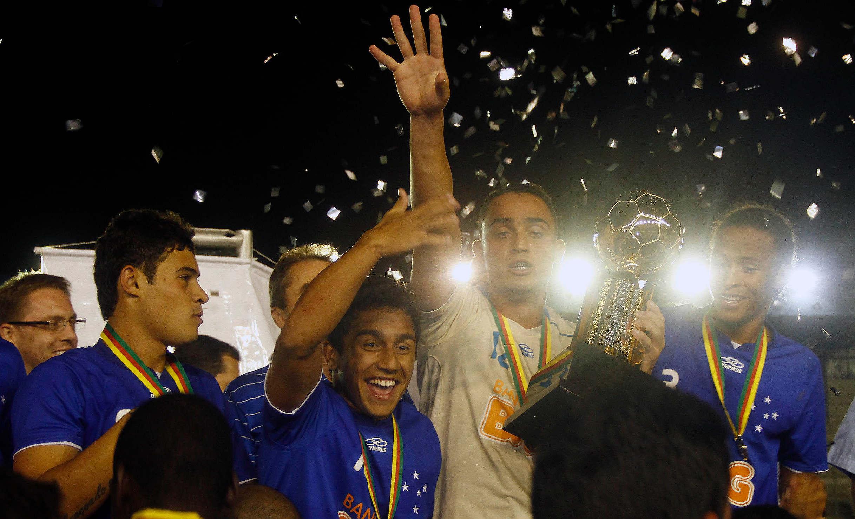Equipe do Cruzeiro campeã brasileira sub-20. FOTO: Guilherme Testa/Futbase.net