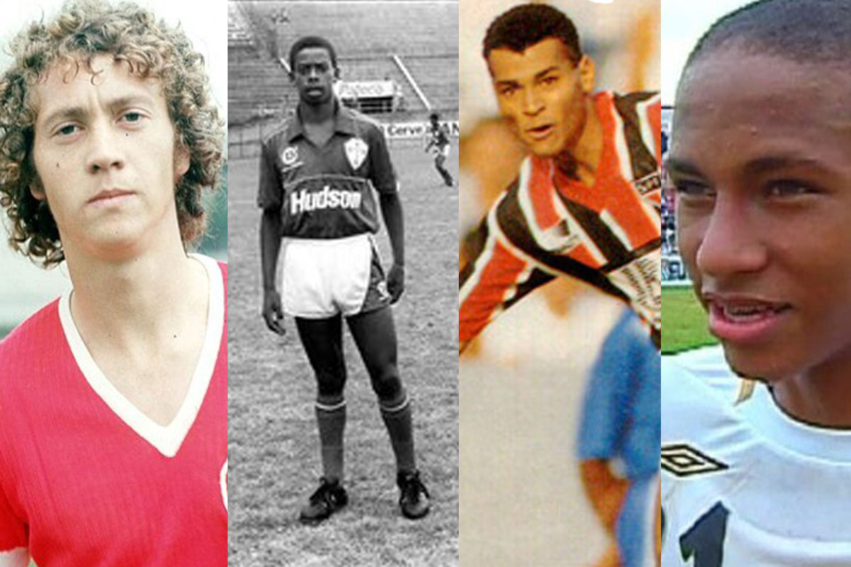 Falcão, Dener, Cafú e Neymar são alguns exemplos de atletas revelados pela Copa São Paulo.
