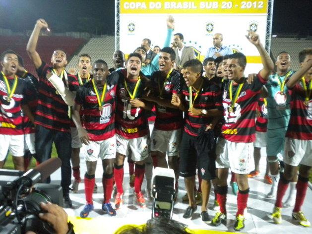 Vitória campeão da Copa do Brasil  Sub-20. FOTO: Site oficial do Vitória
