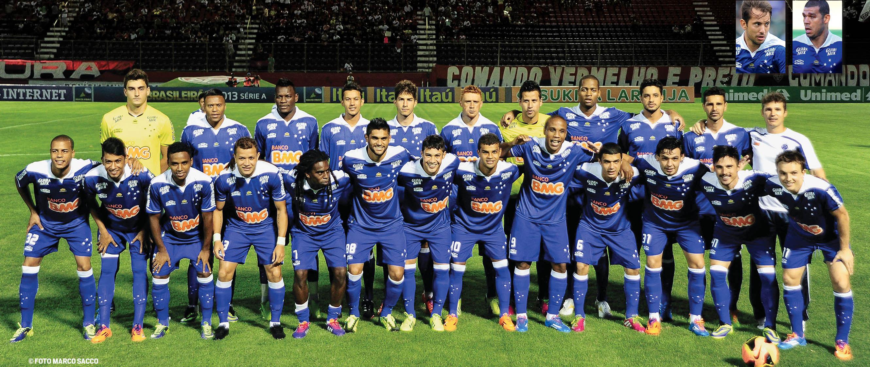 Cruzeiro campeão contra o Vitória. FOTO: Placar