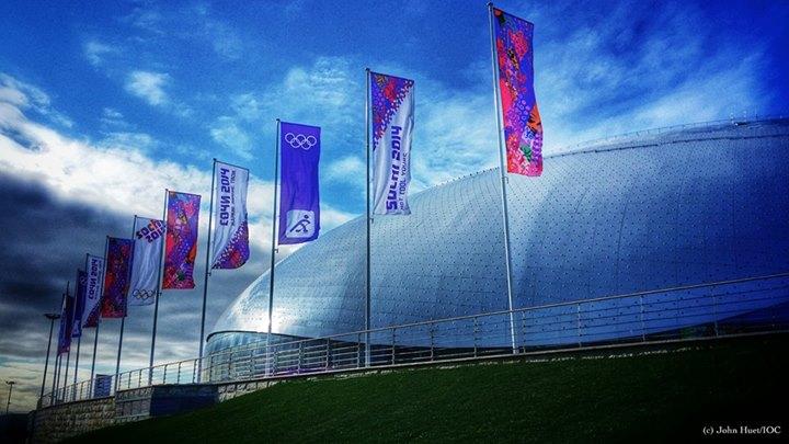Bolshoi Ice Dome, no parque olímpico de Sochi. FOTO: COI