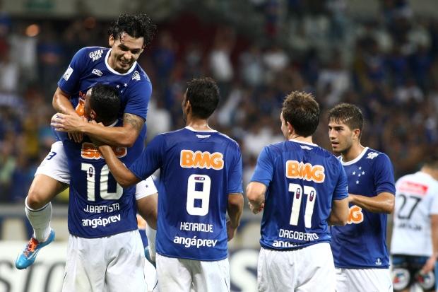 O Cruzeiro passou aperto mas avançou para as oitavas. FOTO: SuperEsportes