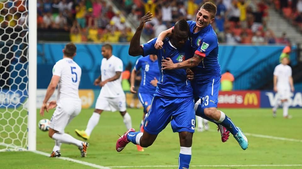 Com gol de Balotelli, Itália vence clássico contra a Inglaterra. FOTO: FIFA