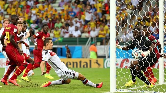 O homem gol, o definidor, o maior artilheiro das Copas. FOTO: Getty Images