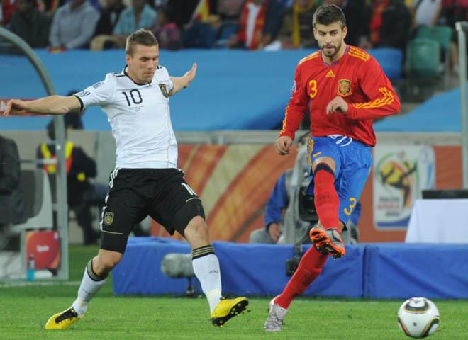 Quase garantia de bom futebol e resultados, Espanha e Alemanha são as grandes favoritas para desbancar o Brasil. FOTO: Getty Images