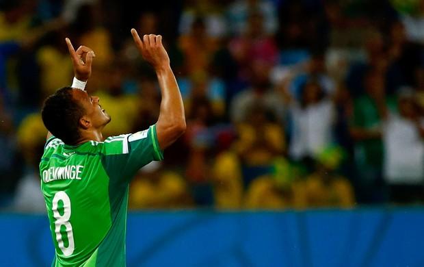 O nome do gol da vitória nigeriana. FOTO: Reuters