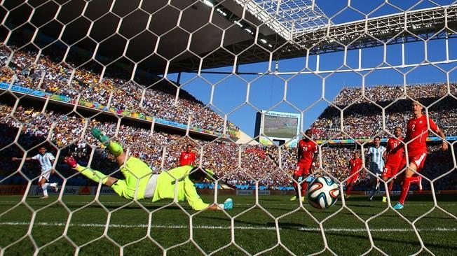 Gol salvador de Di Maria. FOTO: FIFA
