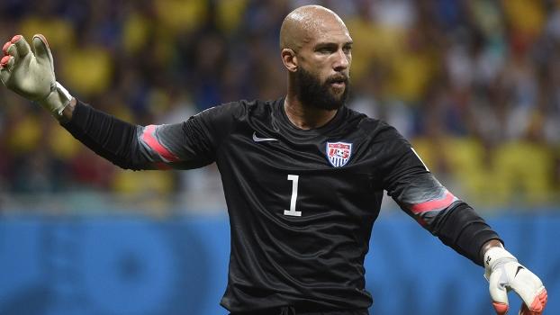 Howard colocou seu nome na história das Copas. FOTO: Getty Images