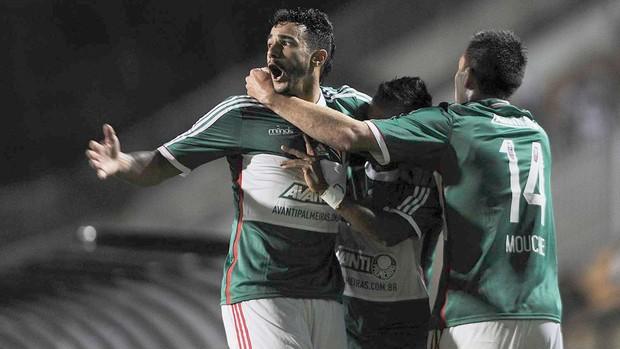 Depois de uma grande sequência sem vitórias, o Palmeiras derrotou o Coritiba. FOTO: Marcos Ribolli