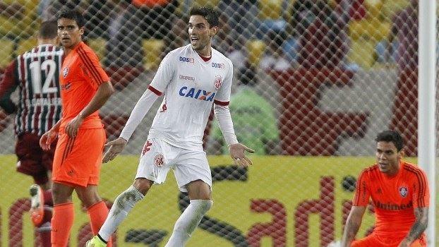 Pimpão comanda América-RN que impõe vexatório 5x2 ao Fluminense. FOTO: Futura Press