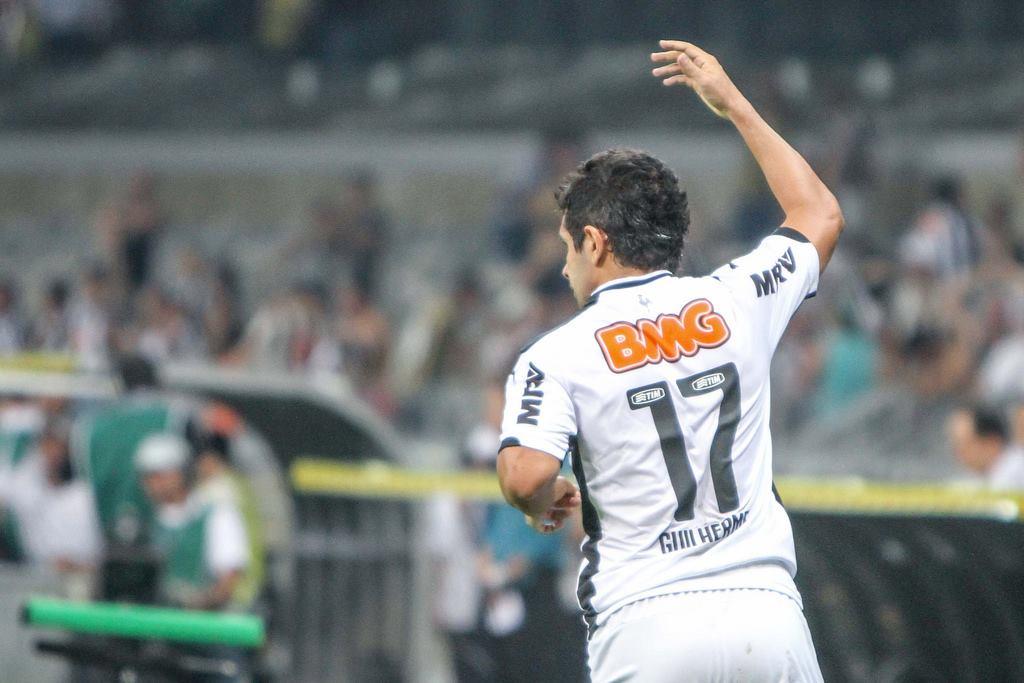 Guilherme tem atuação genial no Mineirão. FOTO: Atlético-MG