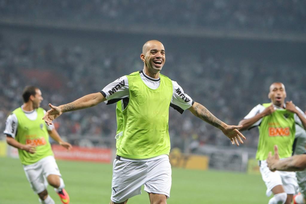 No sacrifício, Tardelli contribuiu para a classificação. FOTO: Atlético-MG