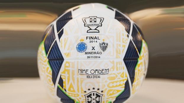 Final da Copa do Brasil terá bola personalizada. FOTO: Rafael Ribeiro/CBF