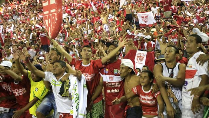 Festa do torcida do CRB, com a volta a série B. FOTO: Ailton Cruz/ Gazeta de Alagoas