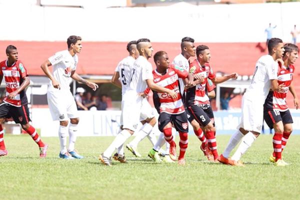 Santos perde a chance de alcançar um feito inédito na Copa São Paulo. FOTO: J Serafim /globoesporte.com