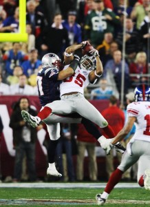 "David Tyree completa a ""Helmet Catch"""