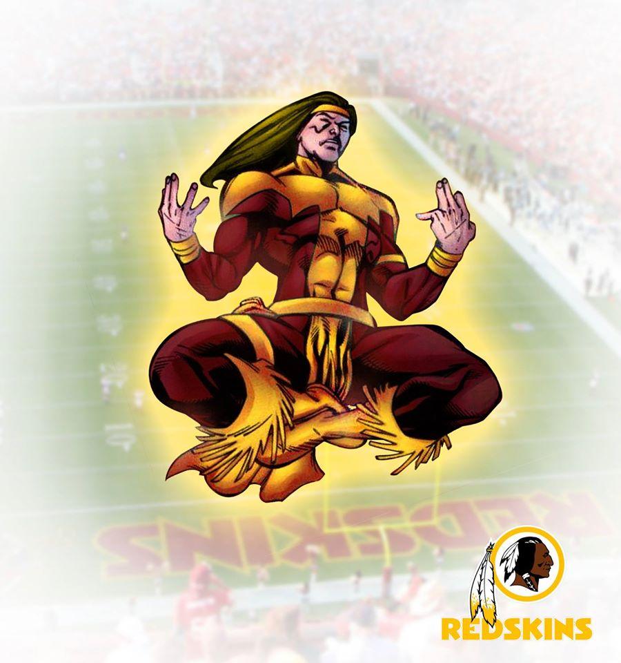 WASHINGTON REDSKINS - Chefe Apache (DC Comics)