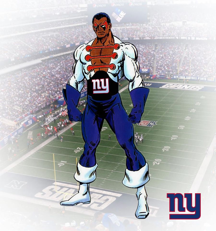 NEW YORK GIANTS - Golias Negro (Marvel)
