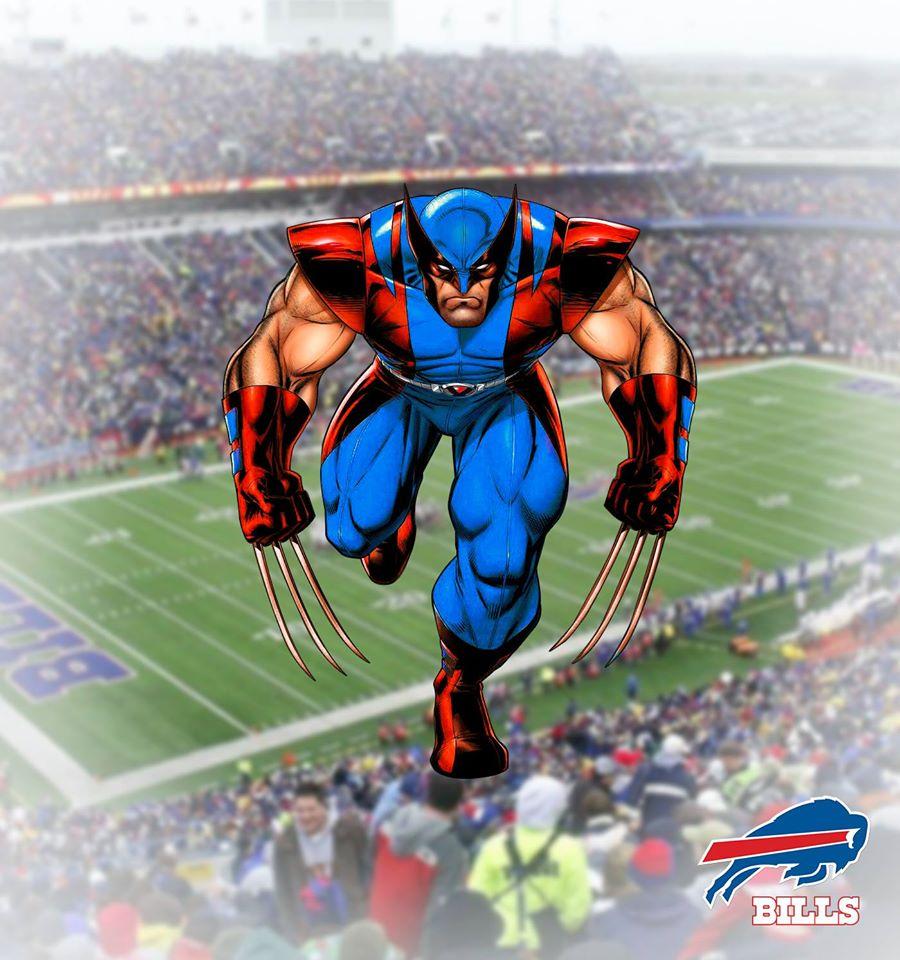 BUFFALO BILLS - Wolverine (Marvel)