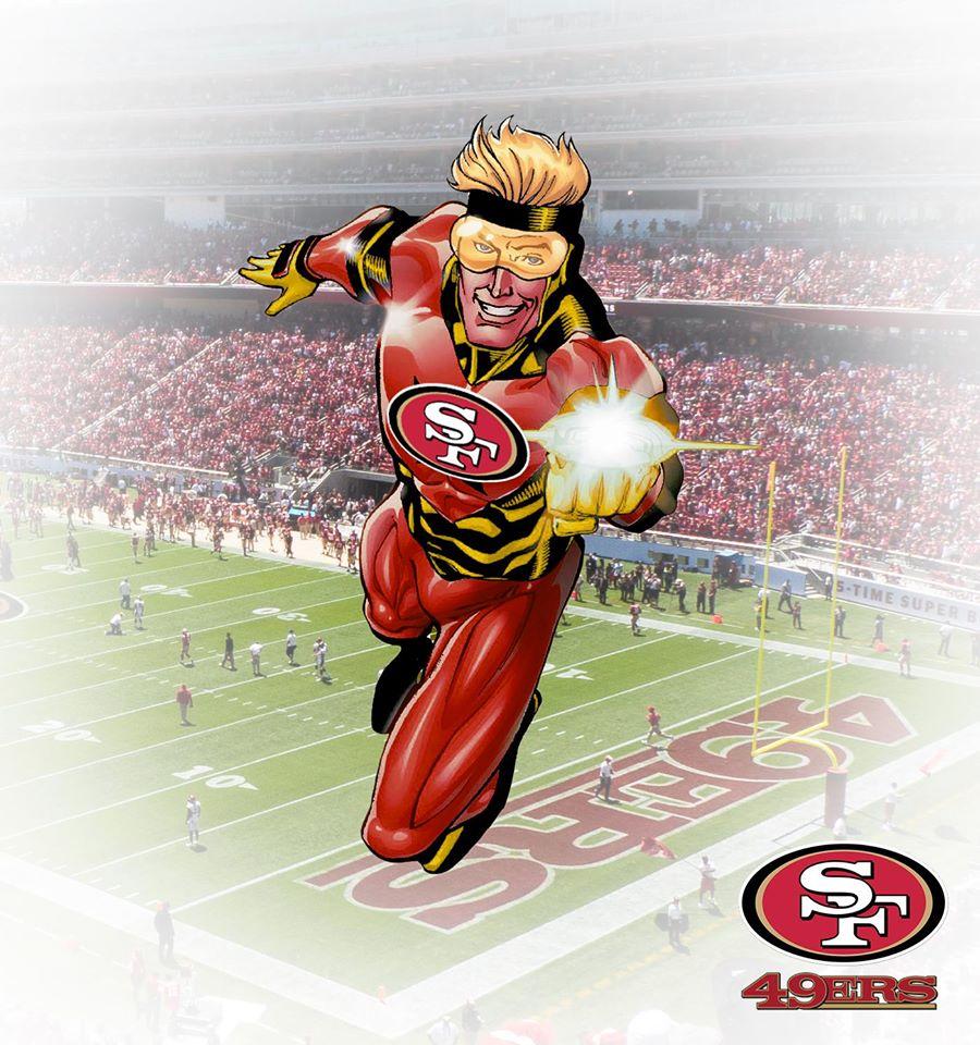 SAN FRANCISCO 49ers - Gladiador Dourado (DC Comics)