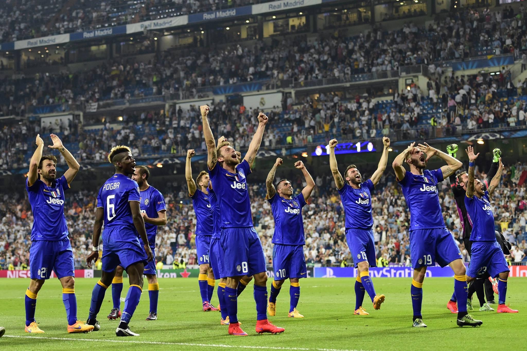 """Com um time """"modesto"""" em relação aos rivais espanhóis, a Juve chega a decisão. FOTO: UEFA"""
