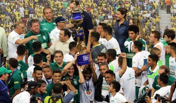 O Gama conquistou o título depois de um longo jejum. FOTO: Francisco Stuckert/Futura Press