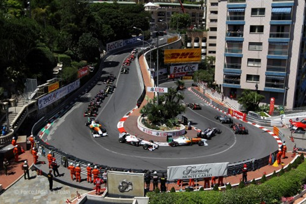Grand Hotel Hairpin: curva mais lenta de todos os circuitos da Fórmula 1. FOTO: www.motorilive.com
