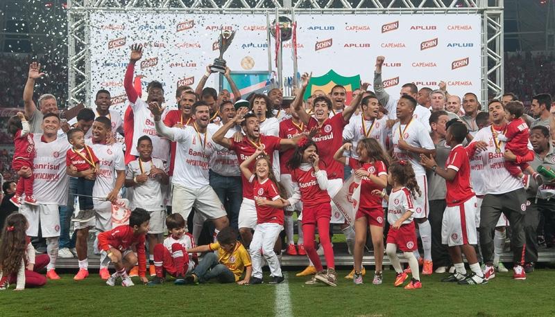 Colorado conquista o título gaúcho sobre o Grêmio. FOTO: Portal Gauira