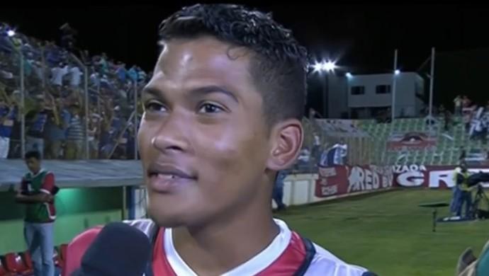 O neto de Pelé integrou o elenco do Guarani. FOTO: reprodução SporTV