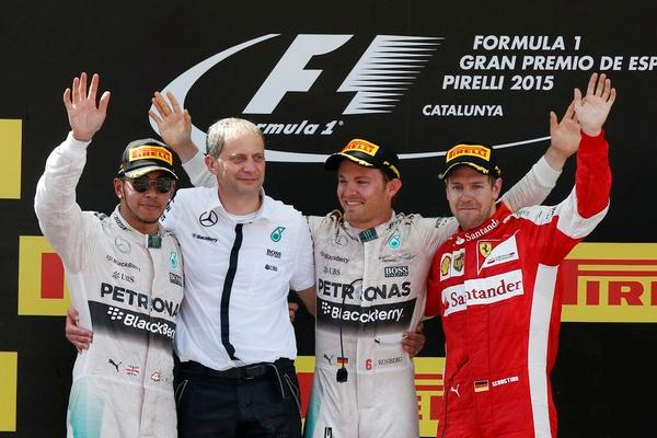 """Rosberg """"renasce"""" com vitória na Espanha e tenta iniciar uma """"caçada"""" ao líder Lewis Hamilton. FOTO: Reuters"""