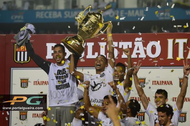 Santos supera Palmeiras e conquista o título paulista. FOTO: Agência Estado