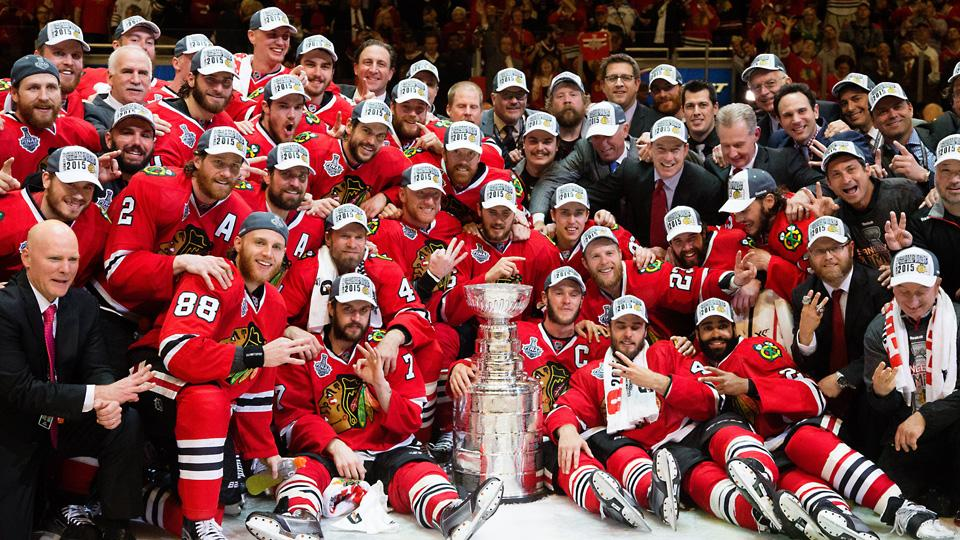 Time com a Stanley Cup. FOTO: Getty Images