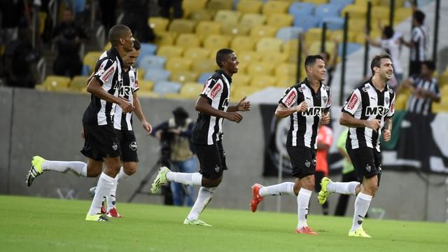 Galo passeia no Maracanã e derrota o FLamengo. FOTO: AP