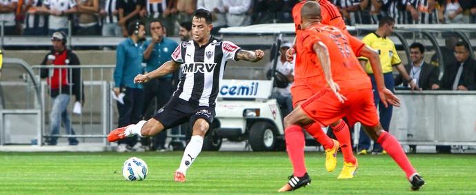 Meia marcou golaço que deu a vitória ao Galo. FOTO: Bruno Cantini / Flickr do Atlético-MG