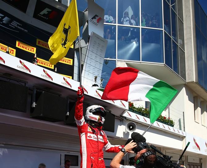 Sebastian Vettel vence sua segunda corrida nesta temporada. FOTO: Getty Images.
