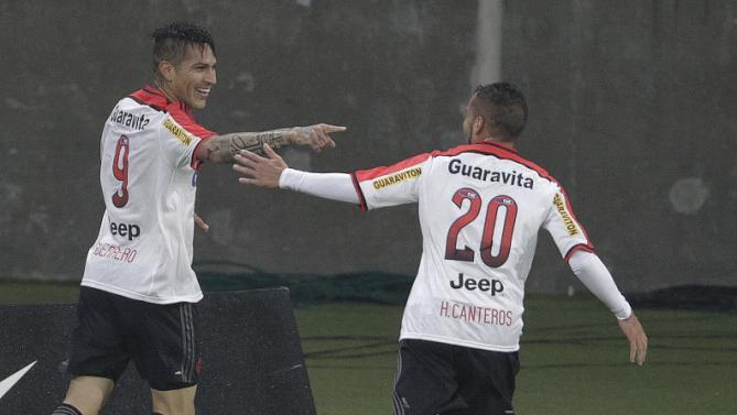 Guerrero é o melhor em campo na estreia pelo Flamengo.  FOTO: Itamar Aguiar/Agência Free Lancer