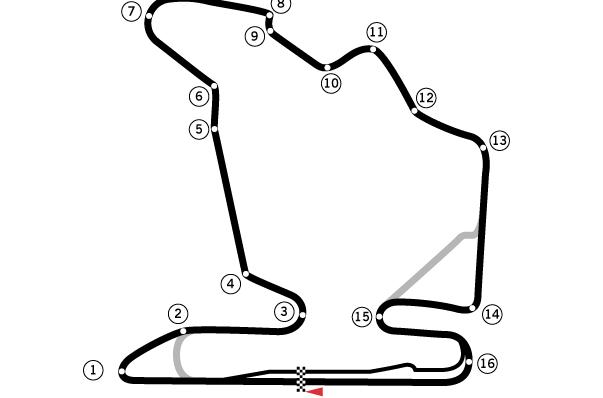 Circuito de Hungaroring onde se realiza o GP da Hungria desde 1986. FOTO: pt.wikipedia.org.
