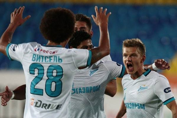 Como cabeça de chave questionável, Zenit pode se aproveitar de grupo sem grandes para avançar. FOTO: UEFA