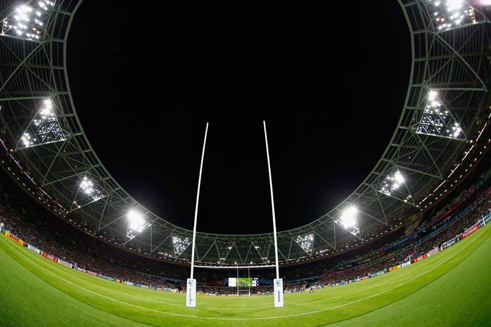 A Inglaterra sediou um grande evento, de um esporte que cresce e se profissionaliza a cada dia. FOTO: Rugby World Cup