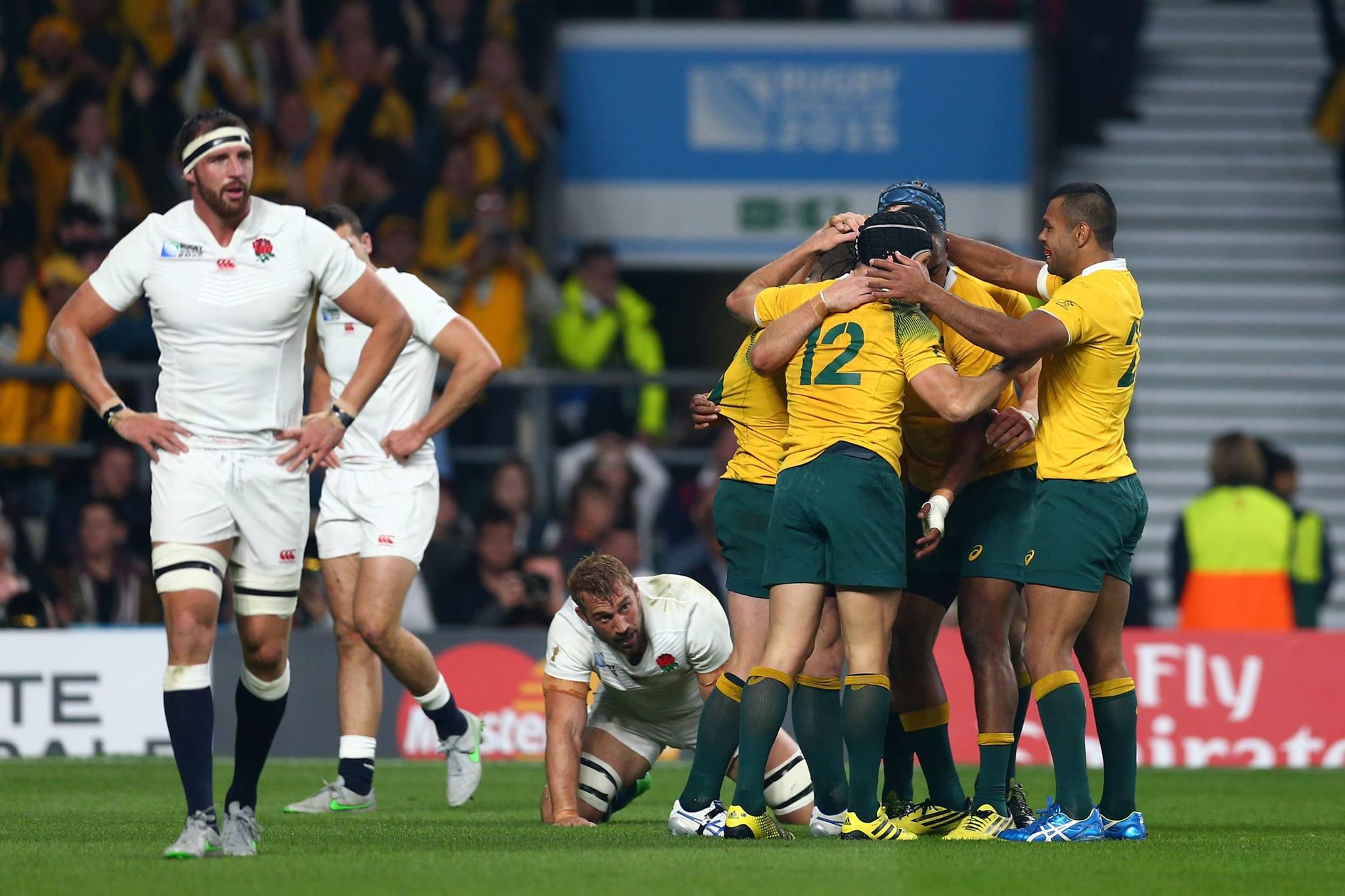 Depois de toda a festa preparada, Inglaterra sai mais cedo da Copa. FOTO: Rugby World Cup