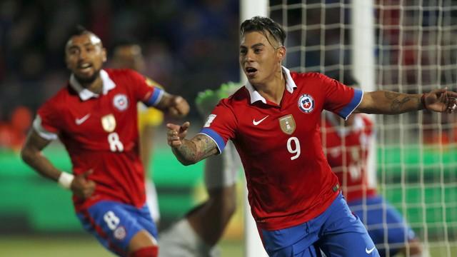 Chile começou de forma arrasadora a competição. FOTO: Getty Images