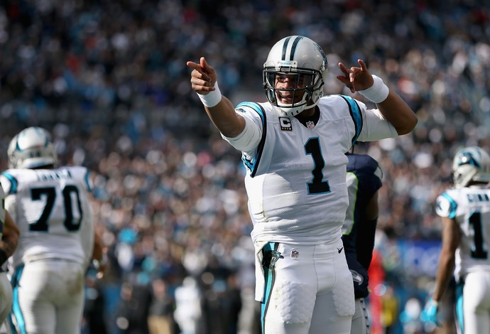 Panthers passam o carro no primeiro tempo e despacham os Seahawks. FOTO: Getty Image \ Patrick Smith