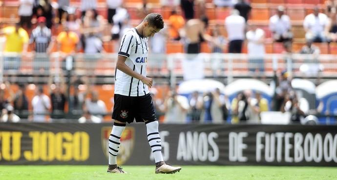 Matheus Pereira após errar o pênalti. FOTO> Marcos Ribolli