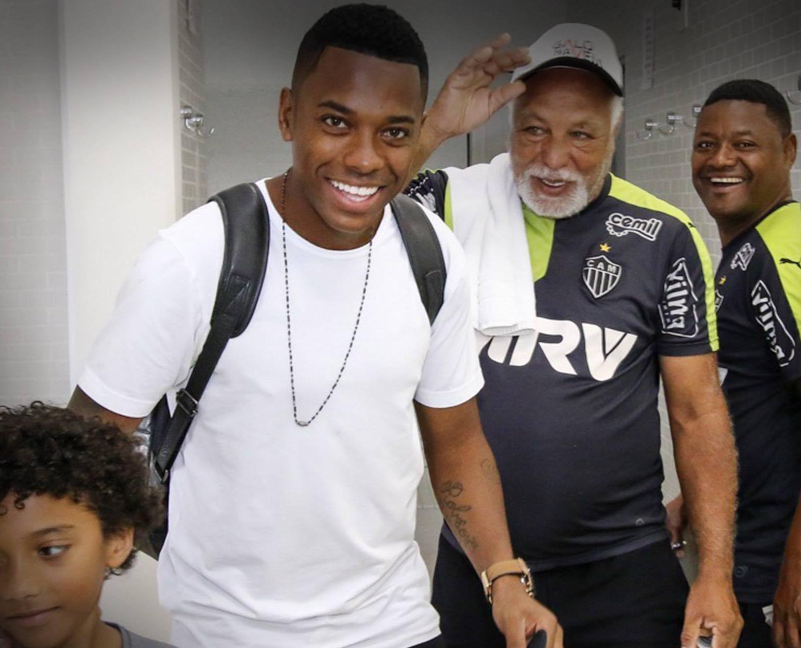 Robinho é a grande contratação dó Brasil no começo da temporada. FOTO: Fan page do Atlético-MG