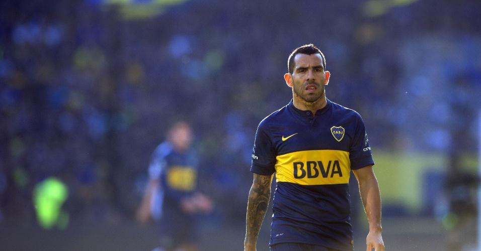 Tevez é o grande nome do Boca Juniors. FOTO: Boca Júniors
