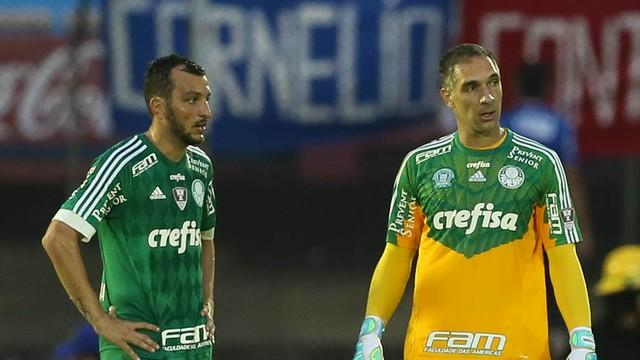 Derrota para o Nacional em casa comprometeu a campanha do Palmeiras. FOTO: Cesar Greco/Ag. Palmeiras