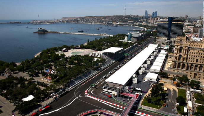 Imagem do final da reta dos boxes do novo circuito da Fórmula 1. Foto: edition.cnn.com