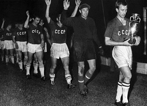 Os soviéticos, campeões em 60. FOTO: UEFA