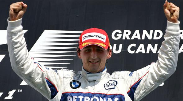 Kubica: de grave acidente a primeira vitória na Fórmula 1 em um ano no Canadá. FOTO: br.motorsport.com.