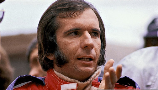 Emerson Fittipaldi, em 1975. FOTO: www.gettyimages.co.uk.
